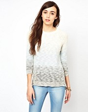 Warehouse Mini Tuck Stitch Sweater