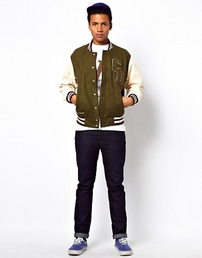 Image 4 ofCriminal Damage Varsity Jacket