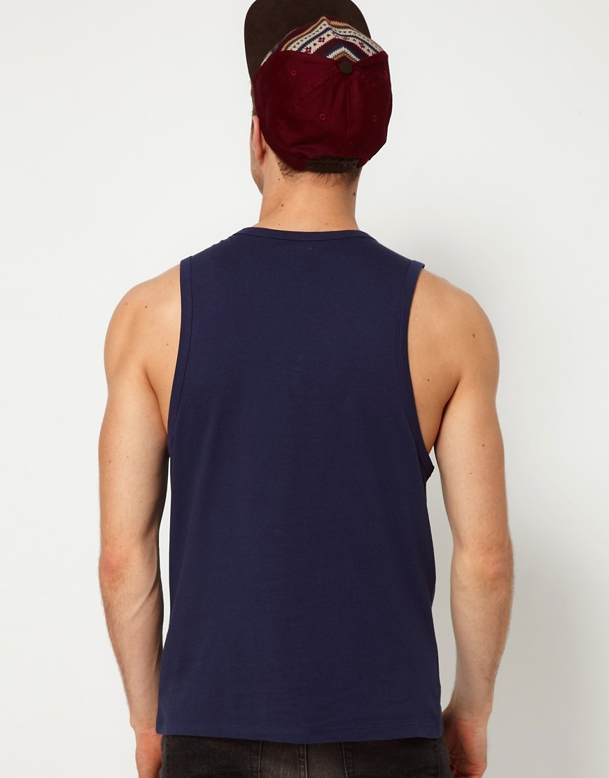 Image 2 of ASOS Vest With Bound Edge
