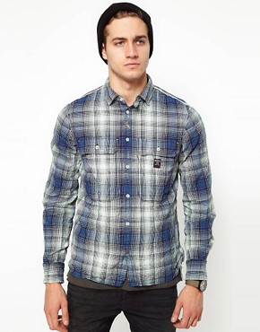 Image 1 ofDiesel Shirt Schippy Check Crinkle