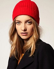 Peter Jensen Waffle Lambswool Knit Hat