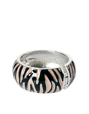 Image 2 ofPieces Zullu Zebra Print Bangle