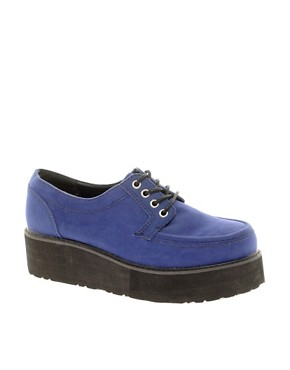 Image 1 ofASOS VILLAGE Flatform Creepers
