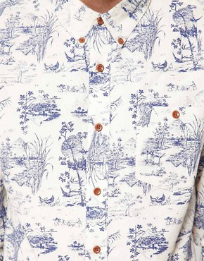 Image 3 ofASOS Printed Shirt