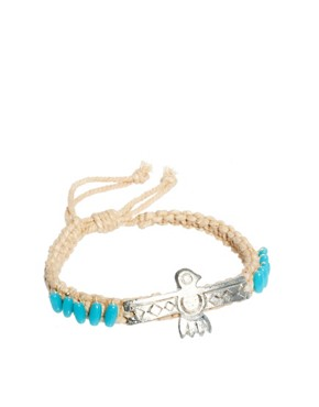 Image 1 ofASOS Aztec Eagle Bracelet