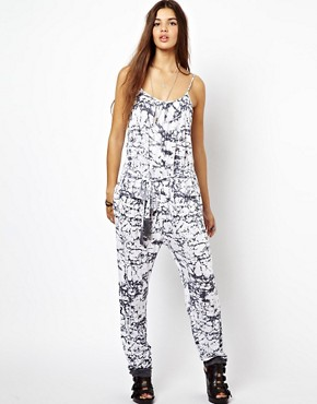 Image 4 ofReligion Nature Jumpsuit Jewel Print