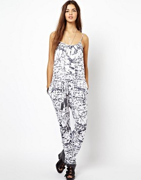 Image 1 ofReligion Nature Jumpsuit Jewel Print