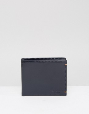 Ted Baker Wallet in Leather with Contrast