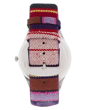 Image 2 ofASOS Fabric Stripe Watch