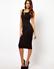 TFNC Midi Body-Conscious Dress