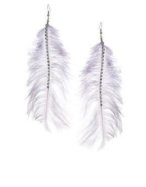 Image 1 of Oasis Feather Earrings