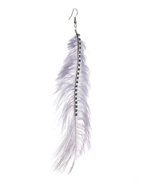 Image 3 of Oasis Feather Earrings