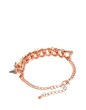 Image 2 ofASOS Spike Stone Bracelet