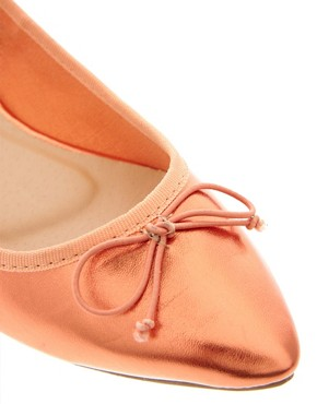 Image 2 ofASOS LIVE Pointed Ballet Flats