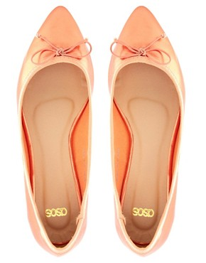 Image 4 ofASOS LIVE Pointed Ballet Flats