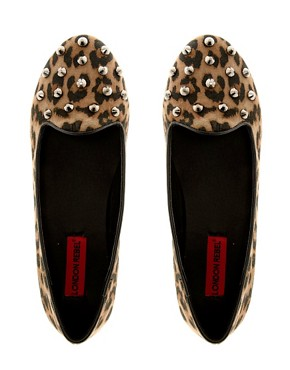 Image 3 ofLondon Rebel Studded Slipper