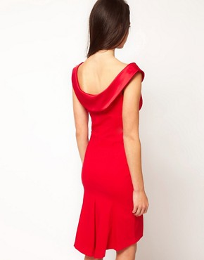 Image 2 ofHybrid Dress With Bardot Neckline