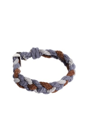 Image 1 ofIcon Brand Woven Bracelet