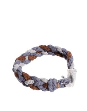 Image 2 ofIcon Brand Woven Bracelet