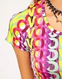 Image 3 ofMartine Rose for ASOS All Over Word Crop Tee