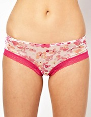 Gossard Glossies Floral Frenzy Short