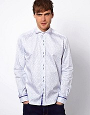 Guide London Shirt Geometric Paisley Print