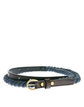Image 1 ofRiver Island Rope Belt