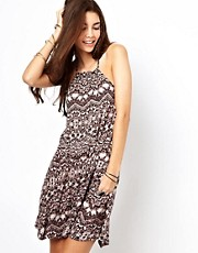 Vestido estampado con cintura cada de Free People