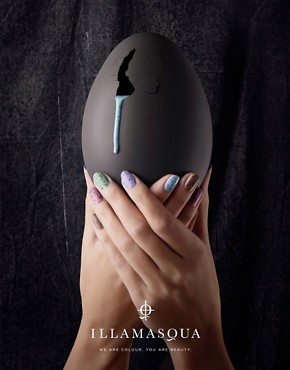 Image 3 ofIllamasqua Limited Edition &#39;I&#39;mperfection Nail Polish