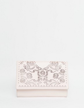 ASOS Laser Cut Clutch Bag