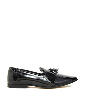 Image 4 ofASOS Loafers in Patent