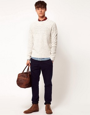 Image 4 of ASOS Cable Knit Jumper