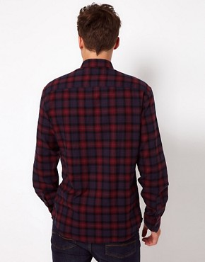 Image 2 of Selected Hank Check Shirt