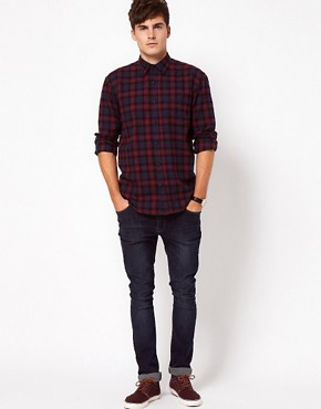 Image 4 of Selected Hank Check Shirt