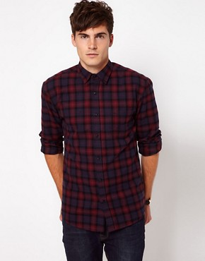 Image 1 of Selected Hank Check Shirt