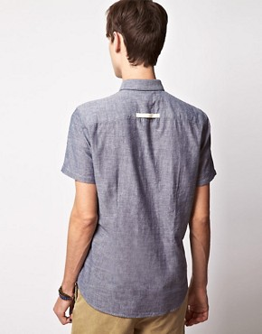 Image 2 ofSuit Short Sleeve Chambray Shirt