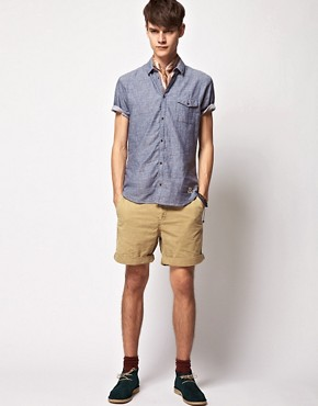 Image 4 ofSuit Short Sleeve Chambray Shirt