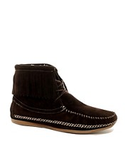 ALDO Sumeriski Shearling Fringe Shoes