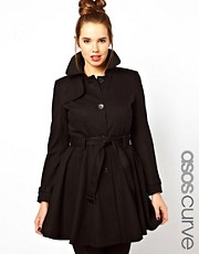 ASOS CURVE Fit &amp; Flare Mac.