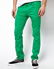 Pantalones de corte slim Thavar 5PKT de Diesel