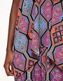 Image 3 ofMara Hoffman Drape Tank Top in Tile Print Silk
