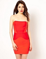 Boulee Colourblock Bodycon Dress