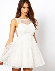 True Decadence Prom Dress In Layered Lace