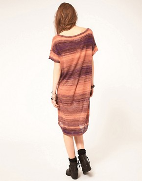 Image 2 ofZadig and Voltaire Knitted Dress in Space Dye