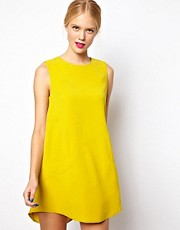 Mademoiselle Tara Shift Dress with Panelled Details