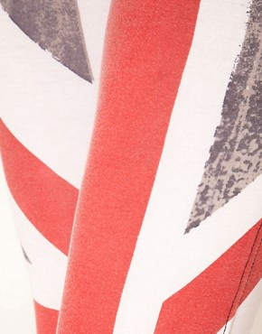 Image 3 ofReligion Union Jack Leggings