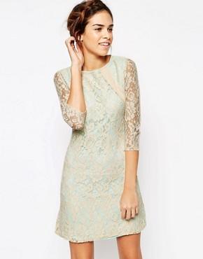 Little Mistress Lace Tunic Dress