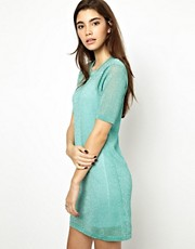 ASOS Lurex T-Shirt Dress