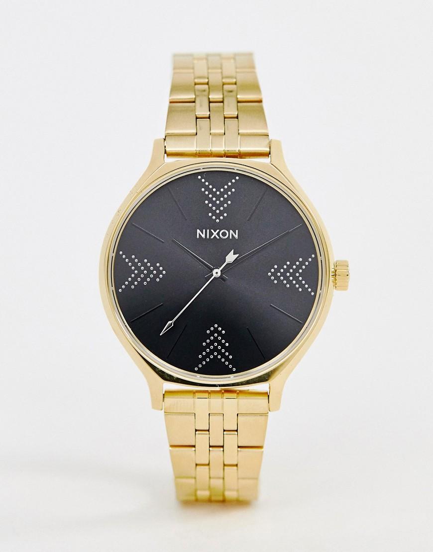 Часы Nixon Clique 38 мм - Золотой