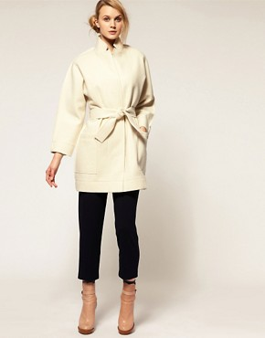 Image 4 ofCacharel Wool Coat With Belt
